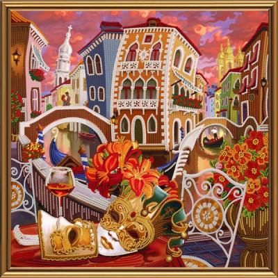 Набор для вышивки бисером - Нова Слобода - Венеция. Зазеркалье ДК1080