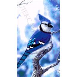 Авторский набор для вышивки бисером - Токарева А. - В зимнем лесу 33-1372-НВ