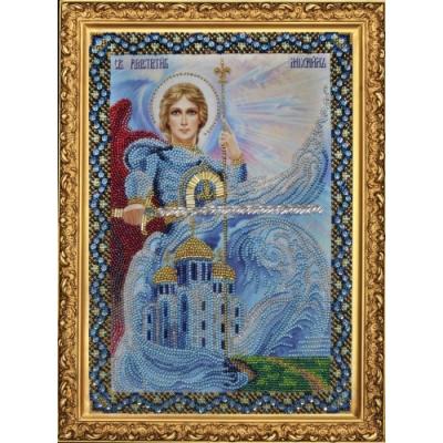 Вышивка бисером икон - Картины бисером - Икона Святого Архангела Михаила Р-092