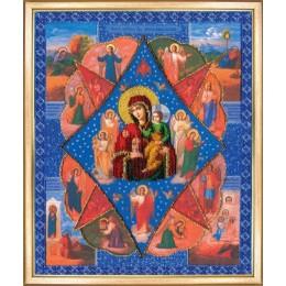 Вышивки бисером иконы  - Чарівна Мить - Б-1090 Икона Божией Матери Неопалимая Купина
