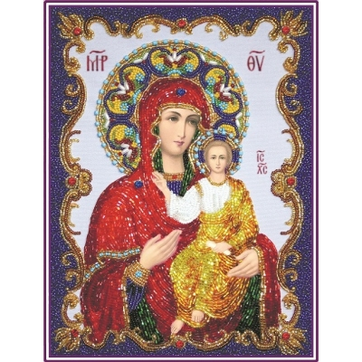 Вышивка бисером икон - Изящное рукоделие - Икона БОГОРОДИЦА «СМОЛЕНСКАЯ»