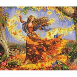 Осенняя фея - Dimensions - набор для вышивки крестом