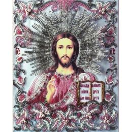 Вышивка бисером икон - Изящное рукоделие - Икона ГОСПОДЬ ВСЕДЕРЖИТЕЛЬ (часть венчальной пары «ЛИЛИИ»)