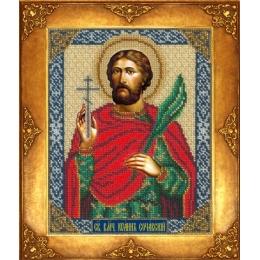 Вышивка бисером икон - Русская искусница - №366 Икона Святой Иоанн Сочавский
