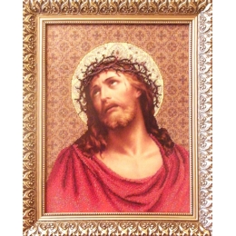 Иисус в терновом венке - БС Солес - набор для вышивки бисером икон
