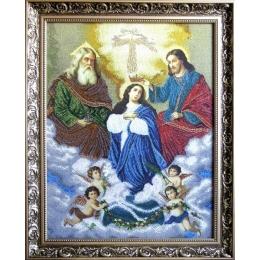 Коронация Пресвятой Богородицы - БС Солес - набор для вышивки бисером икон