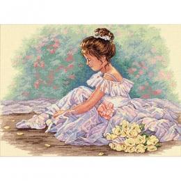 Набор для вышивки крестом - Dimensions - 35245 Милая балерина