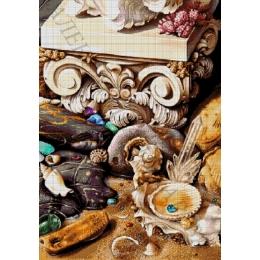 Авторский набор для вышивки бисером - Токарева А. - МОРСКИЕ СОКРОВИЩА 47-2990-НМ