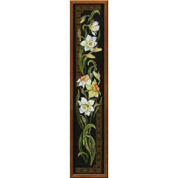Набор для вышивки крестом - РИОЛИС - 842 Нарциссы