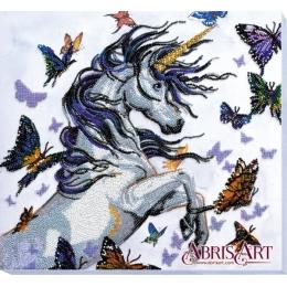 Набор для вышивки бисером - Абрис Арт - Единорог