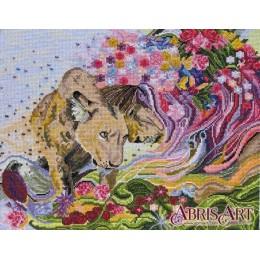 Львиное сердце - Абрис Арт - набор вышивки крестом
