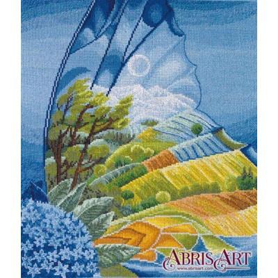 Набор для вышивки крестом - Абрис Арт - Крылатая фантазия