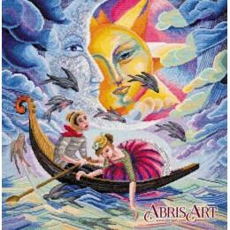 Песнь о любви - Абрис Арт - набор вышивки крестом
