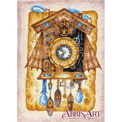 Набор для вышивки крестом - Абрис Арт - Часы с кукушкой