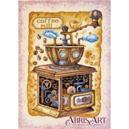 Кофе в зернах - Абрис Арт - набор вышивки крестом
