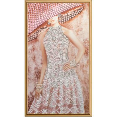 Набор для вышивки бисером - Нова Слобода - ДК2100 Ажур