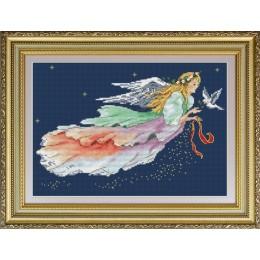 Ангел Рождества - OlanTa - набор вышивки крестом