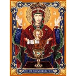 Набор для вышивки бисером - Изящное Рукоделие - БП-148 Богородица НЕУПИВАЕМАЯ ЧАША