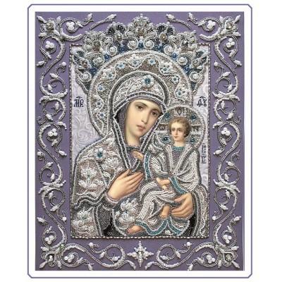 Набор для вышивки бисером - Изящное Рукоделие - БП-151 Богородица Тихвинская (часть Венчальной пары)