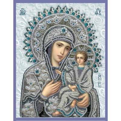 Вышивка бисером икон - Изящное рукоделие - Икона Богородица Тихвинская