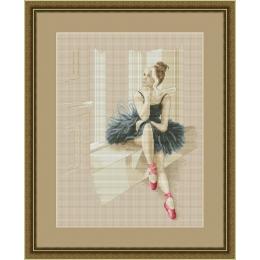 Набор для вышивки крестом - OlanTa - VN-055 Балерина у окна