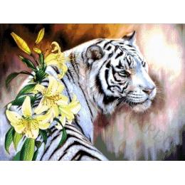 Авторский набор для вышивки бисером - Токарева А. - Бенгальский тигр 53-3072-НБ