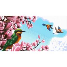 Авторский набор для вышивки бисером - Токарева А. - Встреча весны 41-2176-НВ