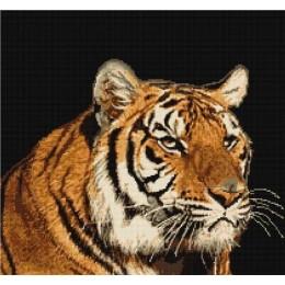 Набор для вышивки крестом - Luca-S - Тигр В334