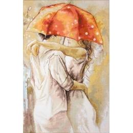 Набор для вышивки крестом - Luca-S - Под зонтом В552
