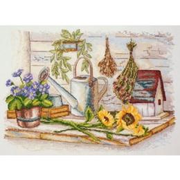 Для сада - Марья Искусница - набор вышивки крестом