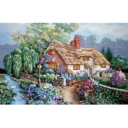 Дом у ручья - Classic Design - набор для вышивки крестом
