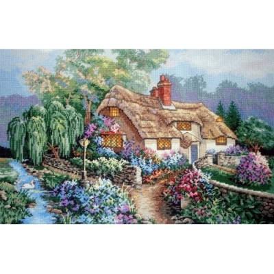 Дом у ручья - Classic Design - набор вышивки крестом