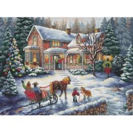 Домой на праздники - Classic Design - набор для вышивки крестом