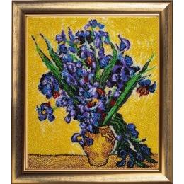 Набор для вышивки бисером - Butterfly - Ирисы по мотивам картины В. Ван Гога