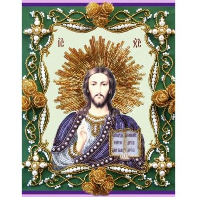 Вышивка бисером икон - Изящное рукоделие - Икона ХРИСТОС ВСЕДЕРЖИТЕЛЬ