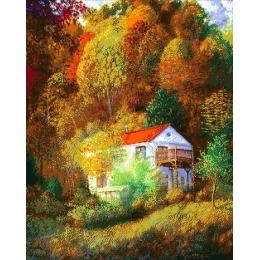 Авторский набор для вышивки бисером - Токарева А. - На склоне горы 52-2622-НН