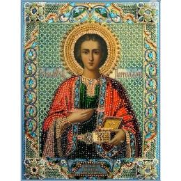 Вышивка бисером икон - Образа в каменьях - Целитель Пантелеймон