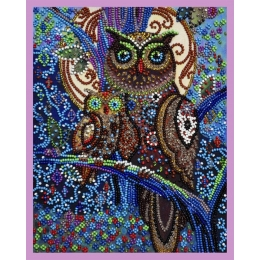 Совята - Картины бисером - набор для вышивки бисером