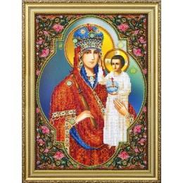 Икона Призри на смирение - Картины бисером - вышивка бисером икон