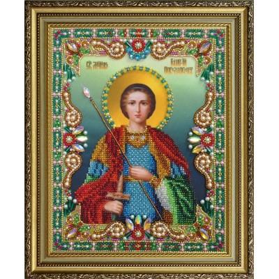 """Икона """"Святой великомученик Георгий Победоносец"""" - Картины бисером - вышивка бисером икон"""