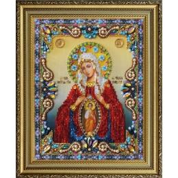 """Икона Божией Матери """"Помощница в родах"""" - Картины бисером - вышивка бисером икон"""