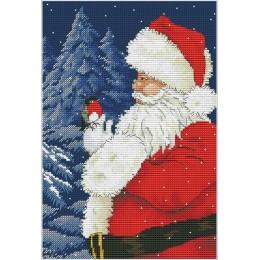 Набор для вышивки крестом - OLanTA - VN-061 Санта, приходи!