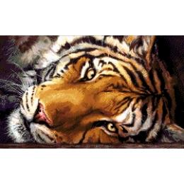Авторский набор для вышивки бисером - Токарева А. - Уссурийский тигр 40-1288-НУ