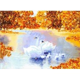 Авторский набор для вышивки бисером - Токарева А. - Янтарный пруд 44-4920-НЯ