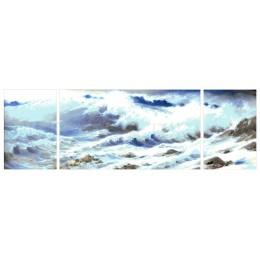 Бушующее море - Токарева А. - авторский набор вышивки бисером