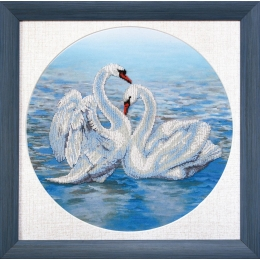 Набор для вышивки ювелирным бисером БЮ-502 Танец любви