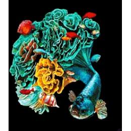 Авторский набор для вышивки бисером - Токарева А. - В пучине океана 51-2200-НВ