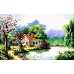 Авторский набор для вышивки бисером - Токарева А. - Весенняя сказка 50-4264-НВ