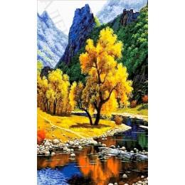 Горная река - Токарева А. - авторский набор вышивки бисером