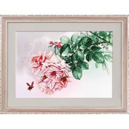 Розовые грезы - Нова Слобода - набор вышивки крестом